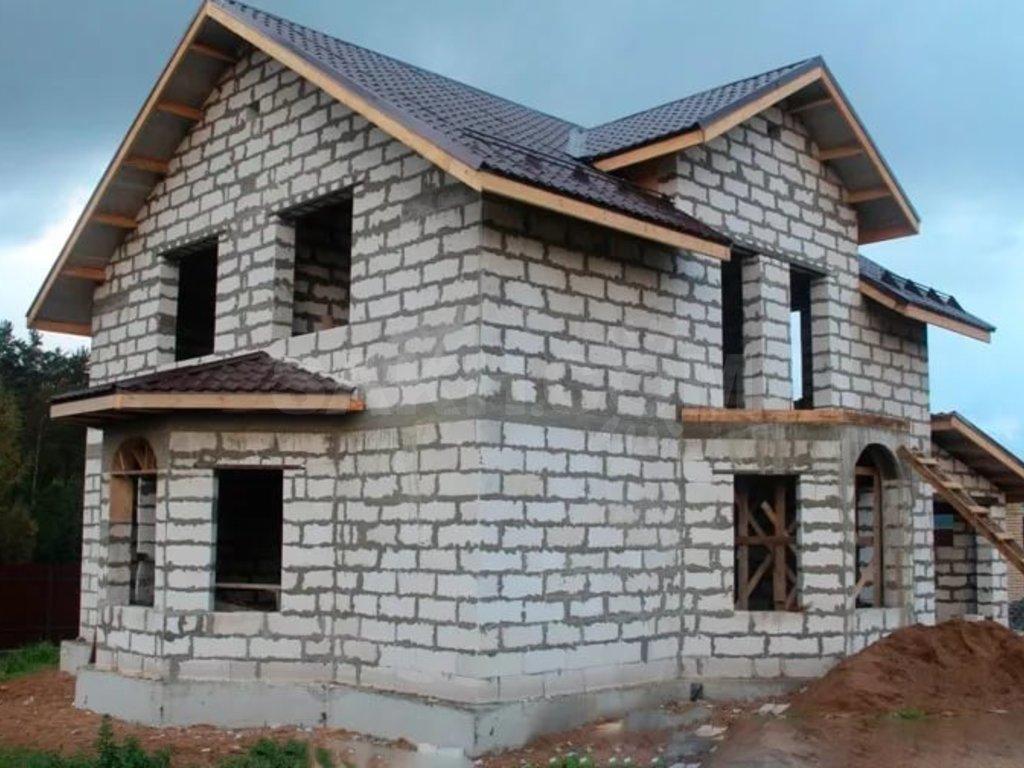 Фотографии домов газобетона